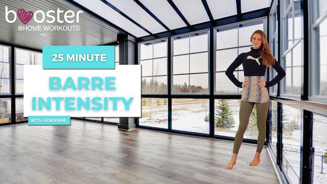 25' Barre Intensity in a studio, Toro...