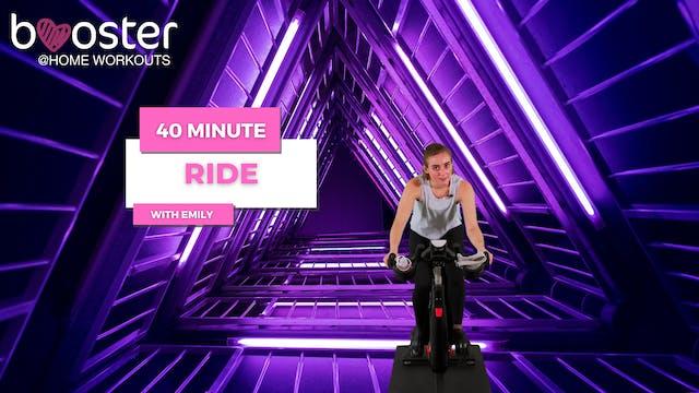 40' ride in a tunnel in Copenhagen, D...