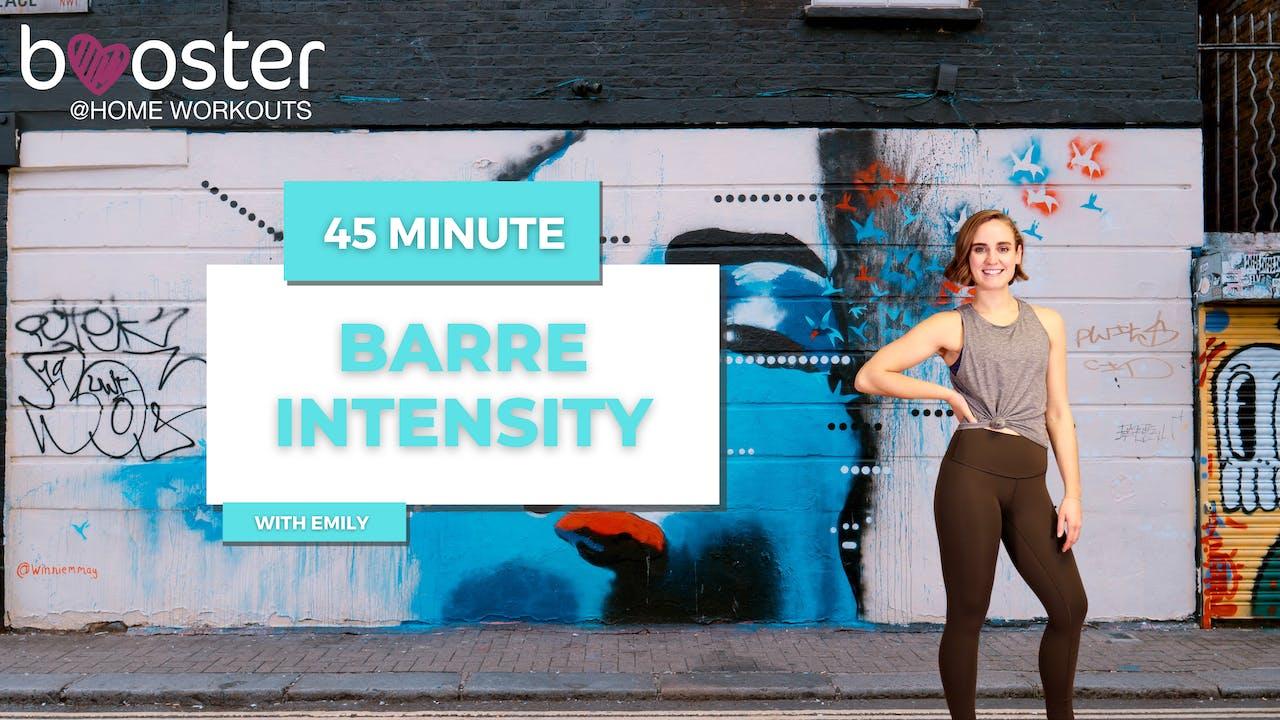 45' Barre Intensity in Camden, London