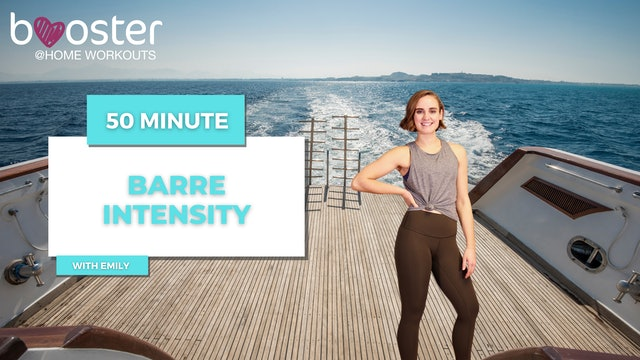 50' Barre Intensity on a yacht deck