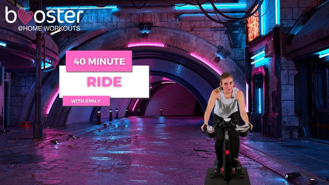 40' ride in London by night