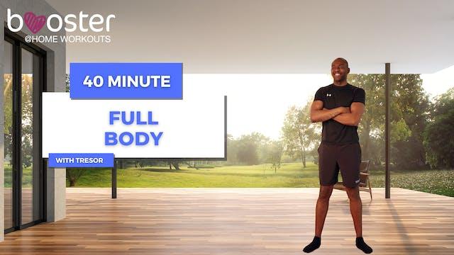 40' Full Body Training in the patio o...