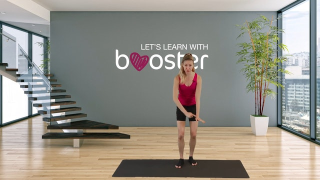 Let's learn with booster. How to perform a proper and effective plank.