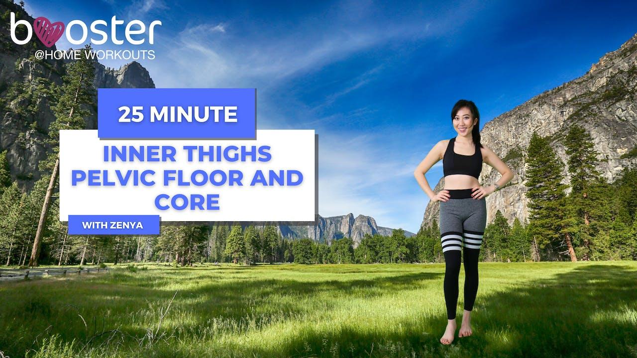 25' Inner thighs, pelvic floor, core, Yosemite CA