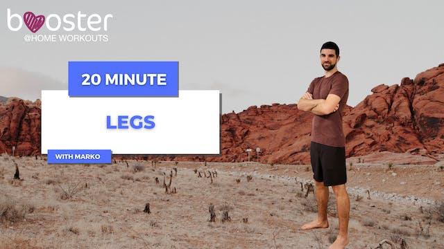 20' legs training in Red Rock Canyon, Las Vegas