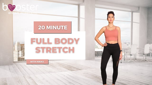 20' full body stretch, in an office overlooking Central Park in NY