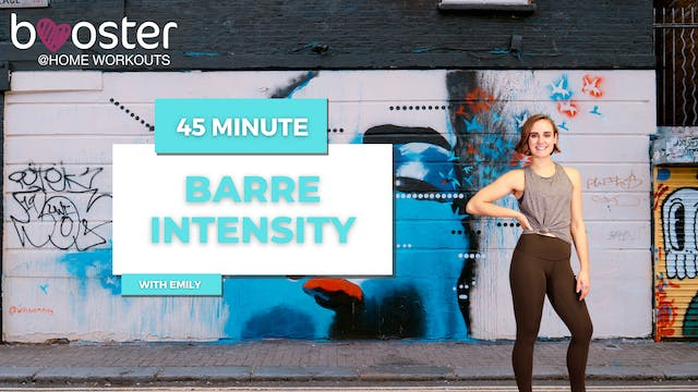 45' Barre Intensity in Camden, London