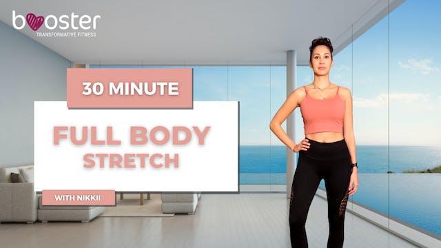 30' full body stretch in a sea view p...