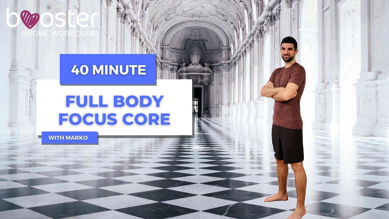 40' Full Body Training, Veneria Reale palace Turin
