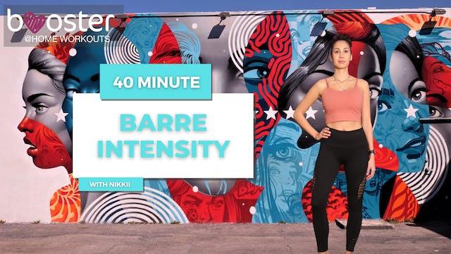 40' Barre Intensity at Wynwood Wall, ...