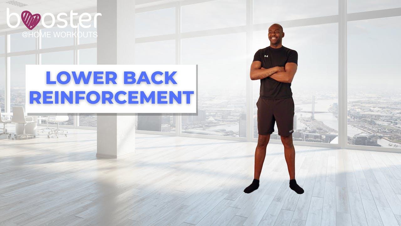 booster series - lower back reinforcement program