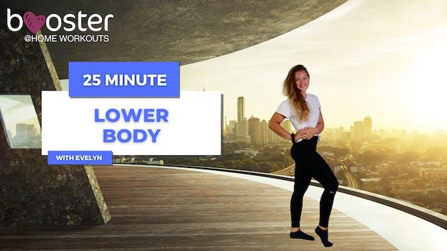 25' Lower Body Training overlooking Dubai