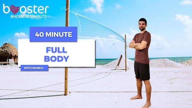 40' Full Body Training on a beach in Belize