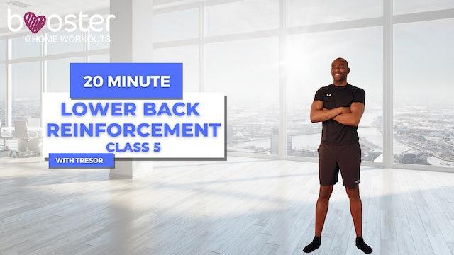 lower back reinforcement series - week 3 class 1