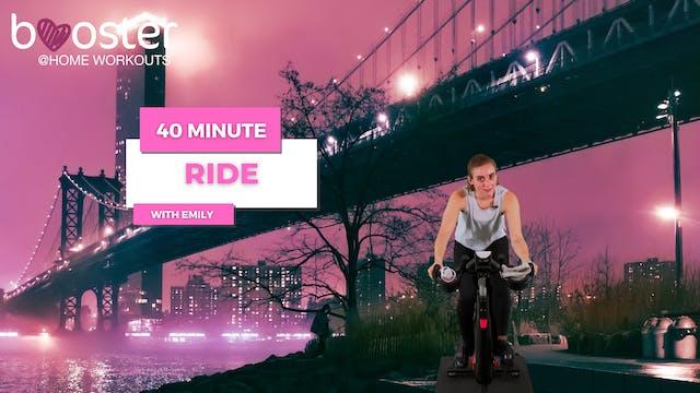 40' ride, Brooklyn bridge, NY city