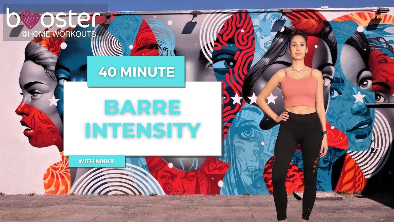 40' Barre Intensity at Wynwood Wall, Miami