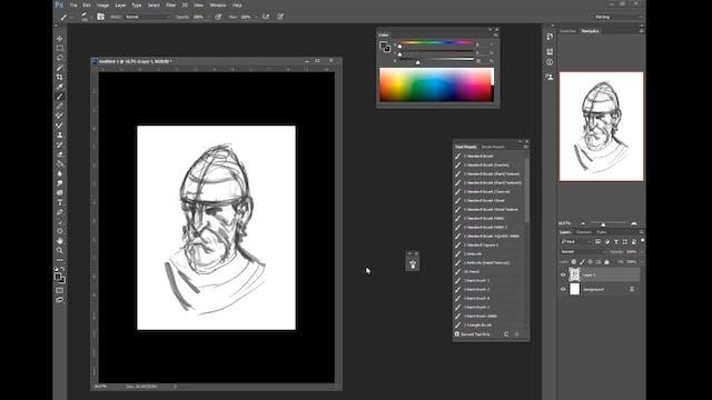 Knight - Digital Paint