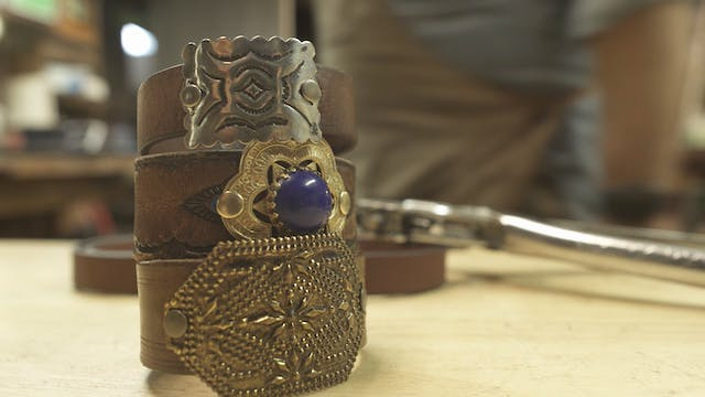 Making a Leather Bracelet