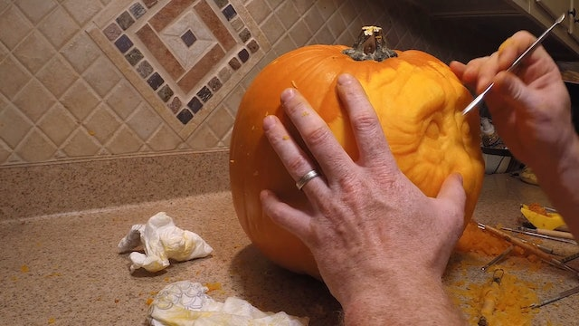 Pumpkin Carving/Shaving