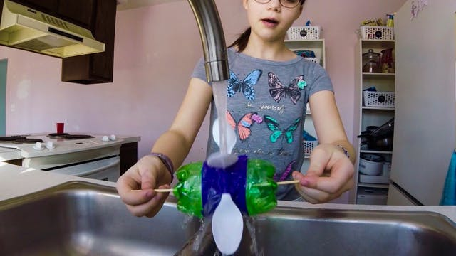 Making a Water Wheel