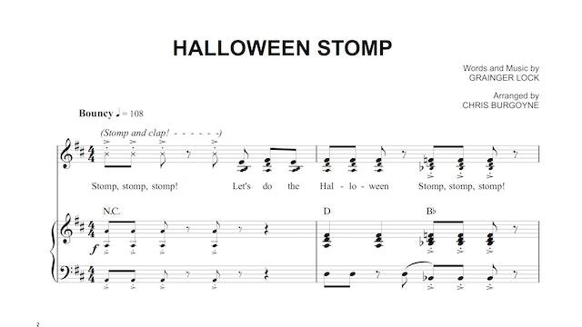 Halloween Stomp Sheet Music