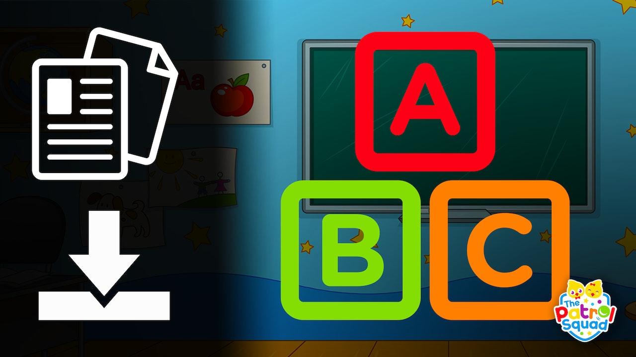 Alphabet Animal Worksheets