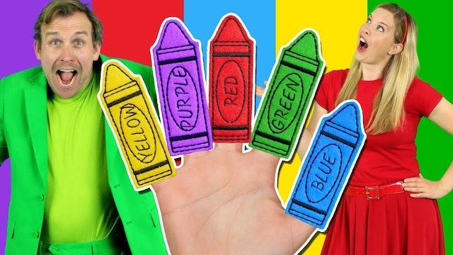 Colours Finger Family