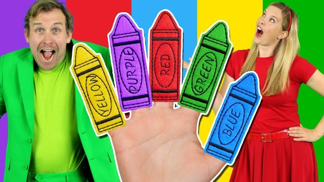 Colours Finger Family