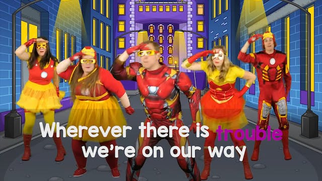 Let's be Superheroes - Karaoke