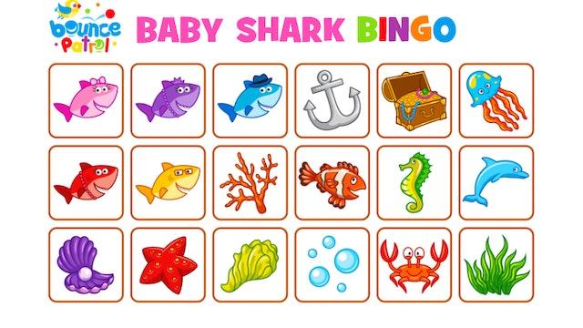 Baby Shark Bingo