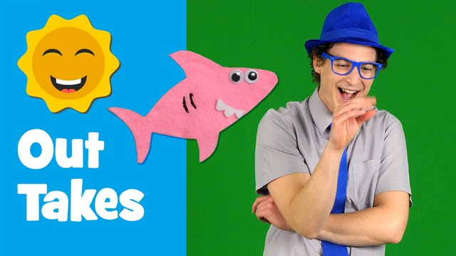Outtakes - Baby Shark Finger Family