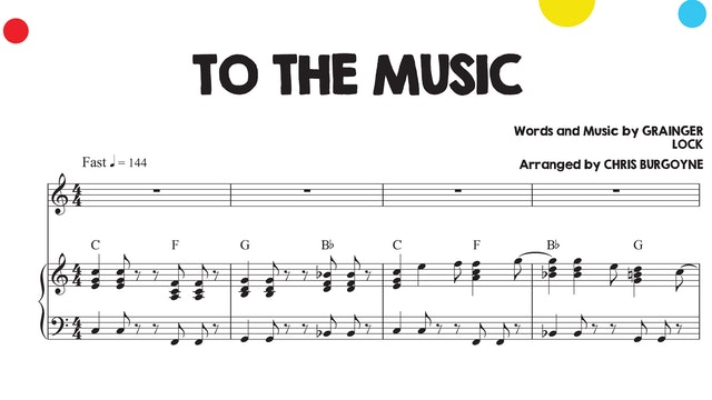 To The Music Sheet Music