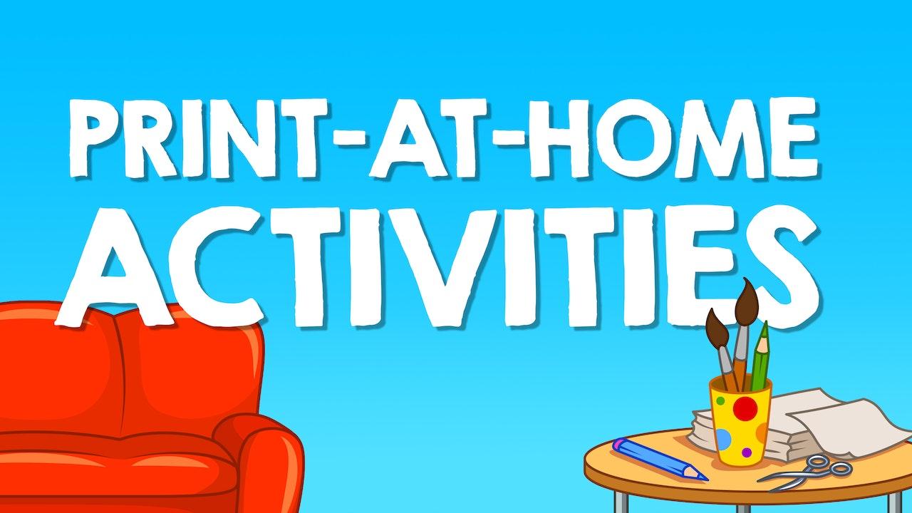 Print-at-home Activities