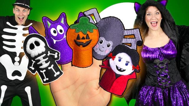 Halloween Finger Family - Part 2