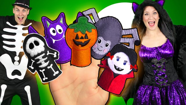 Halloween Finger Family - Part 2