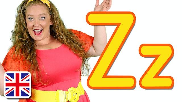 """The Letter Z (UK """"Zed"""")"""