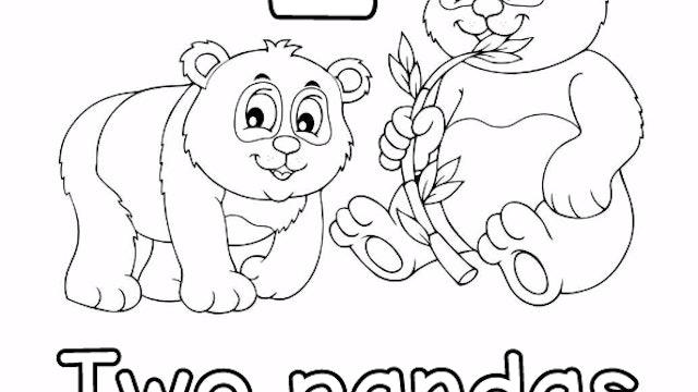 Counting Song (2 Pandas)
