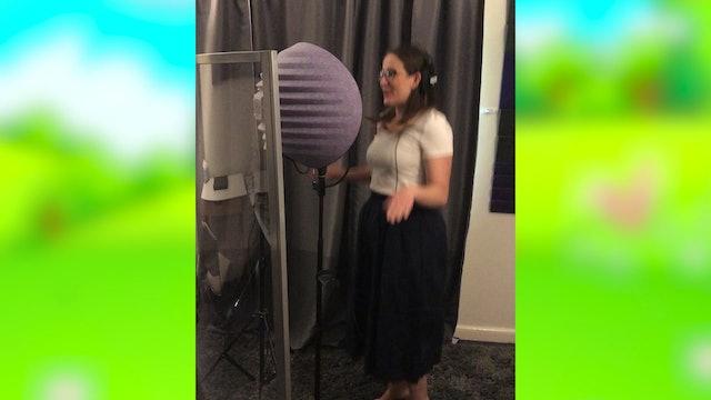 Recording Session with Alyssa
