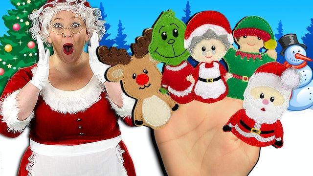 Christmas Finger Family