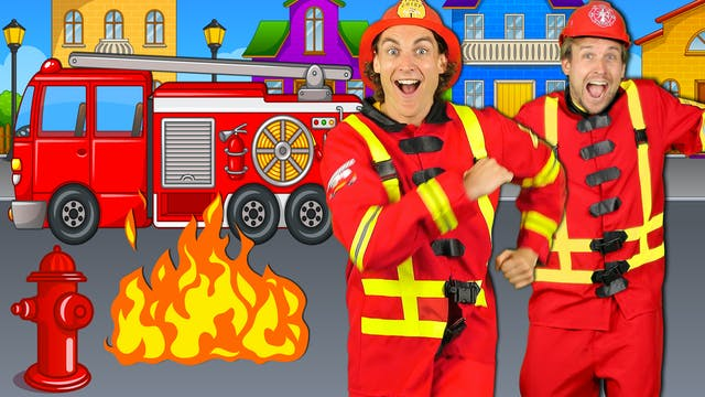 We're Firefighters