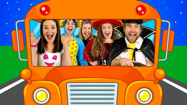 Wheels on the Bus (On Halloween)