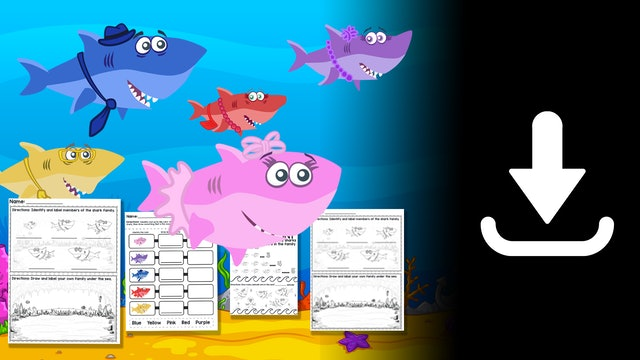 Baby Shark Worksheets