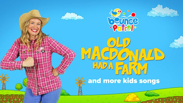 Old MacDonald Had a Farm and More Kid...