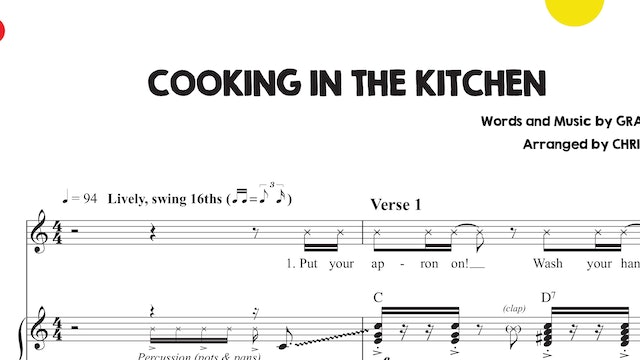 Cooking in the Kitchen Sheet Music