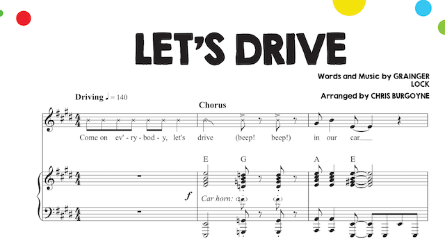Let's Drive Sheet Music