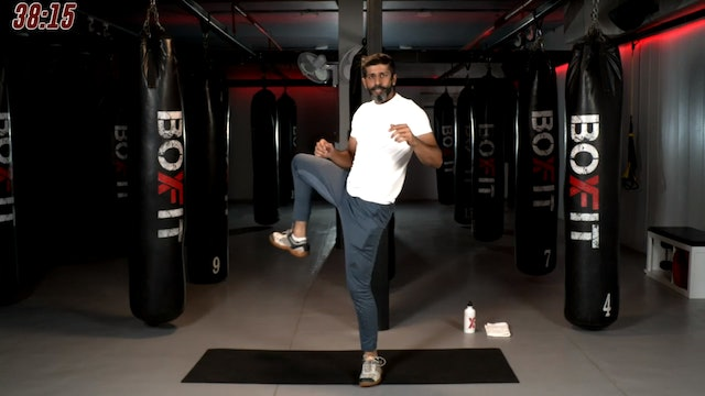 Tue 22/09 7pm IST | Kickboxing and Cardio with Sameer |