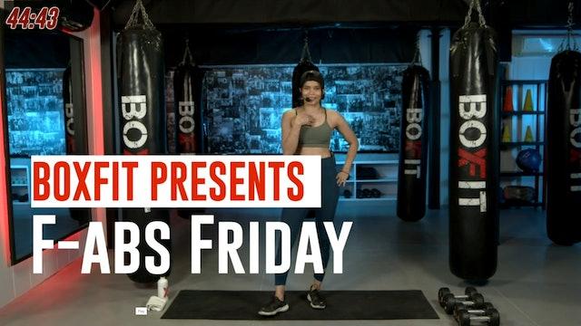 Fri 10/9 6pm  IST   F-abs Friday with Dikshika  