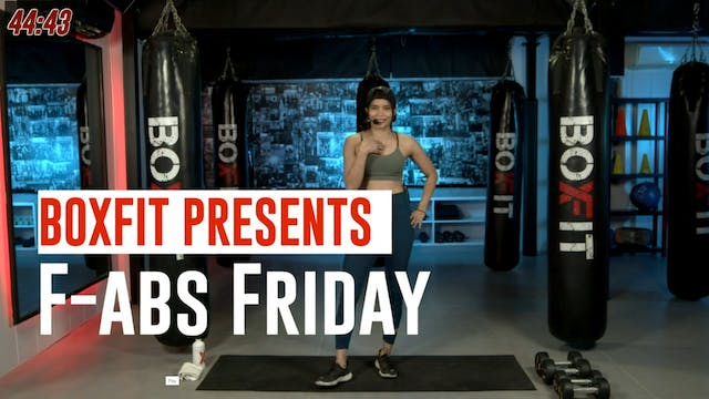 Fri 10/9 6pm  IST | F-abs Friday with...