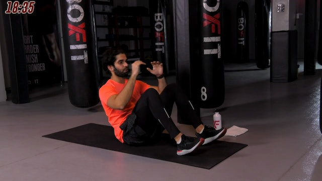 Mon 23/11 7pm  IST | Abs and Cardio with Akhil |