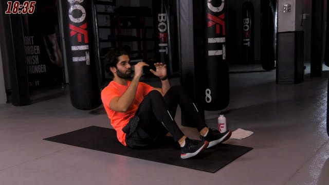 Mon 23/11 7pm  IST | Abs and Cardio w...